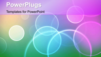PowerPoint Template - A bokeh background
